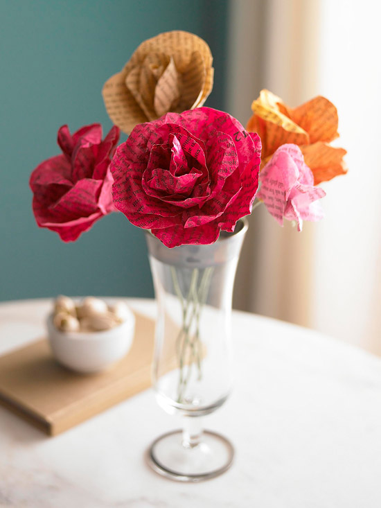 34 Paper Flower Bouquet