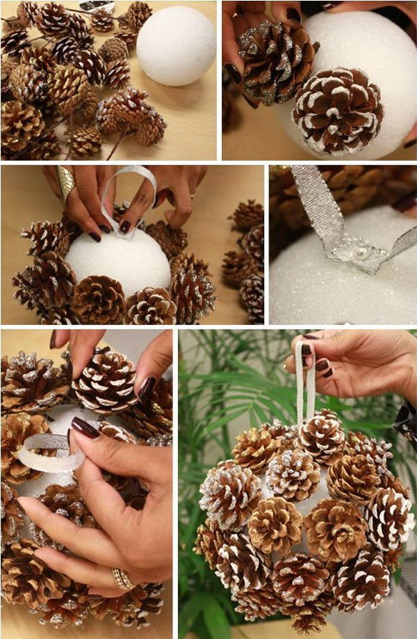 4 Adorable DIY Pine Cone Crafts