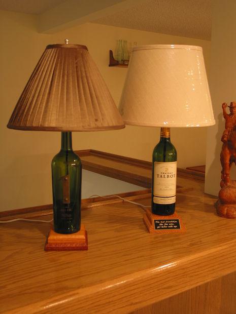 43 Unique Wine Bottle Lamp