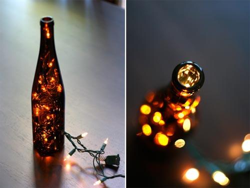 44 Wine Bottle Light
