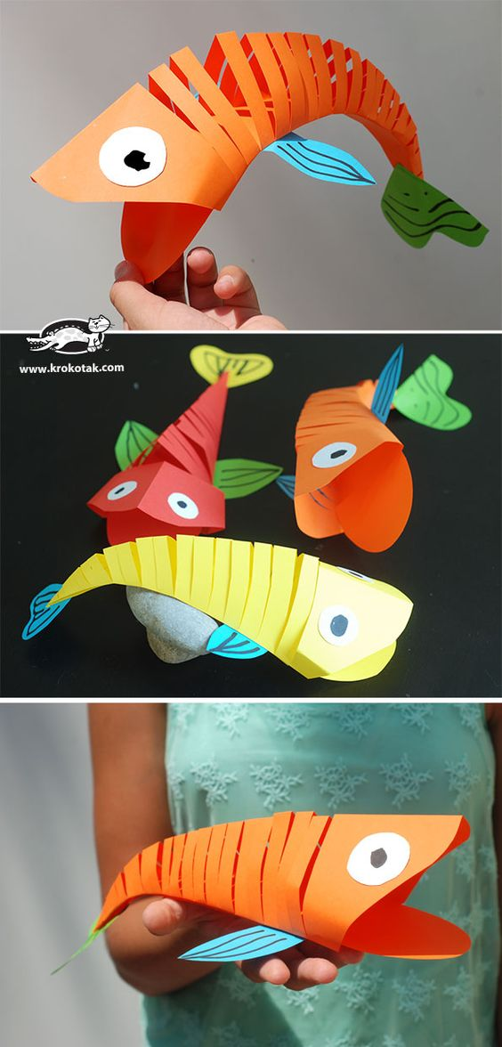 Fish Craft Ideas For Kids Part - 41: 5 Easy Spring Craft Ideas And Tutorials For Kids
