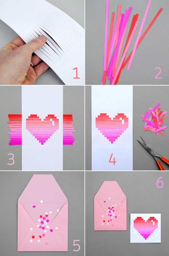 25 Diy Valentine S Day Card Ideas Tutorials Page 9 Foliver Blog