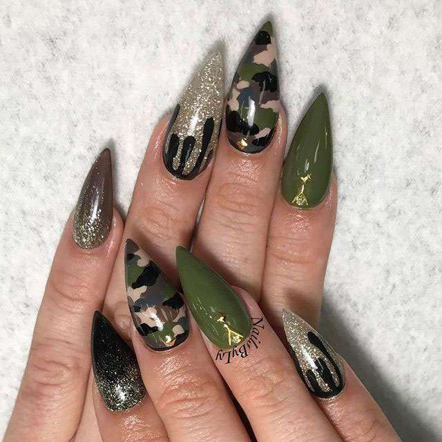31 Camouflage Nail Designs Foliver Blog