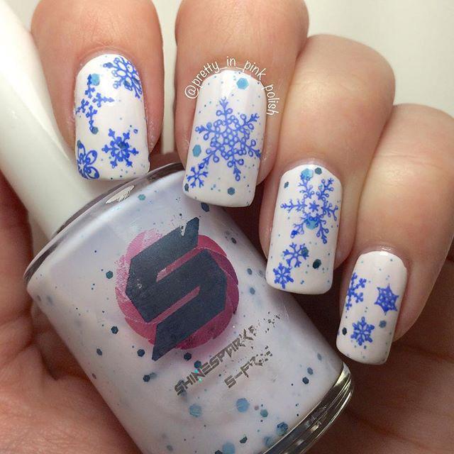 1 Snowy Nail Designs