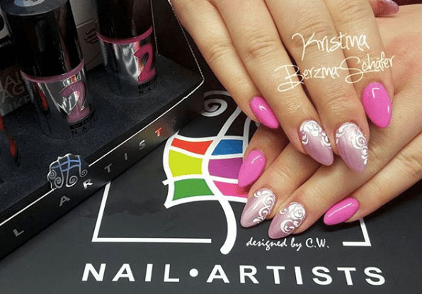 12-Looks-Pretty-Pink-Nail-Inspiration