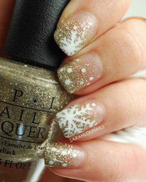 14 Snowy Nail Designs
