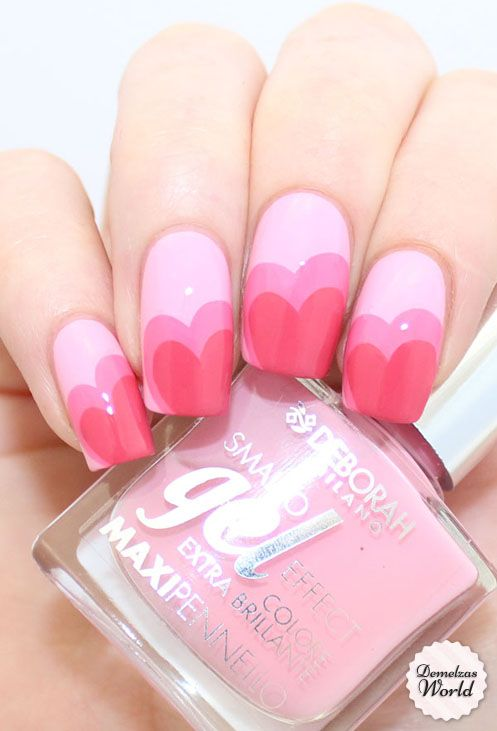 14 valentines nails