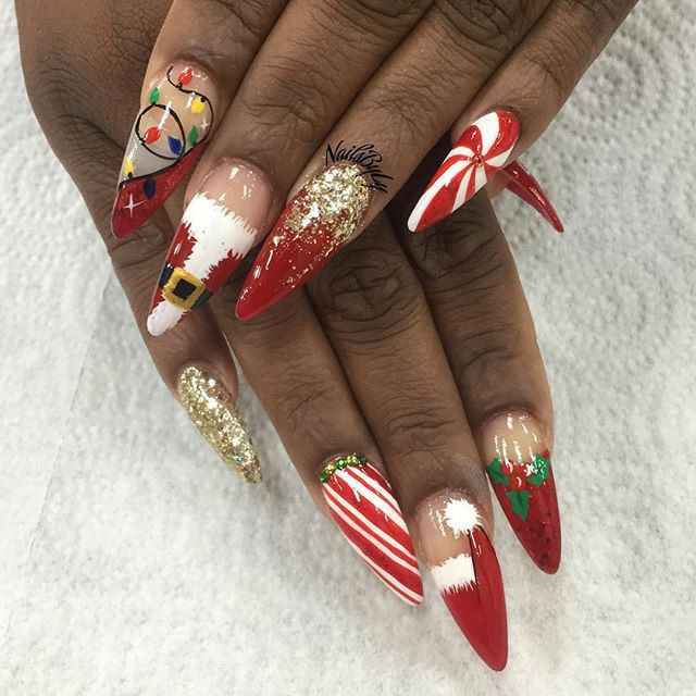 15 Christmas 2018 Mani Ideas