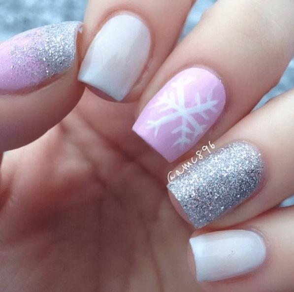 15 Snowy Nail Designs