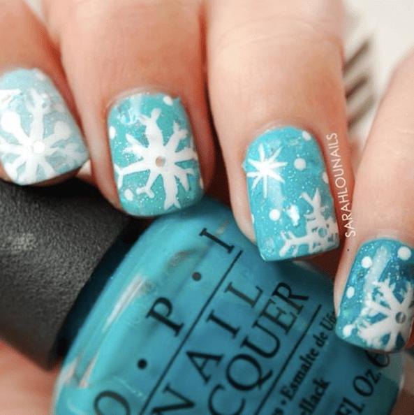 16 Snowy Nail Designs