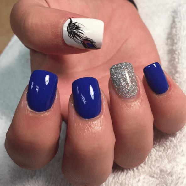 17 Peacock Nails