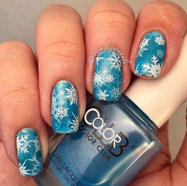 19 Snowy Nail Designs
