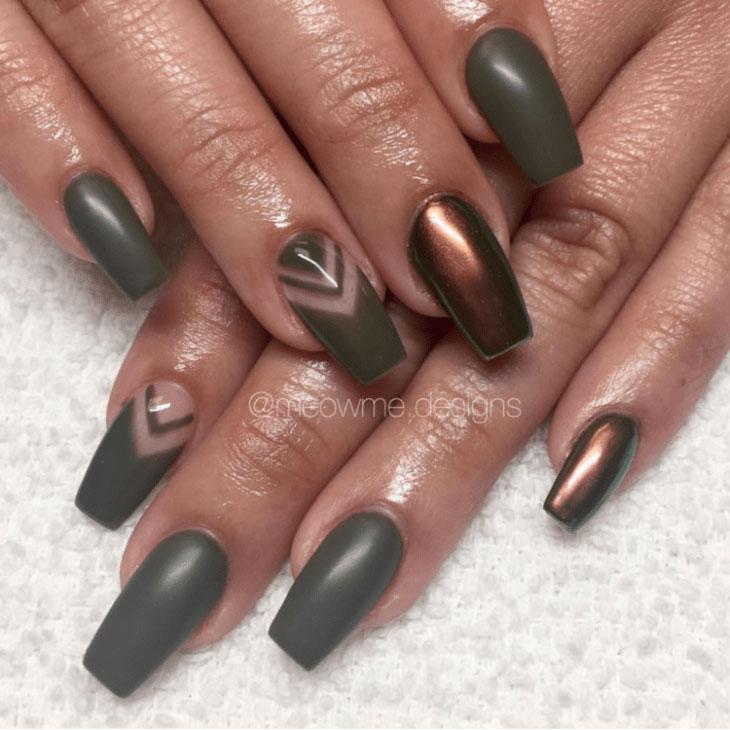 2-Camouflage-Nail-Designs - 31 Camouflage Nail Designs – Page 2 – Foliver Blog