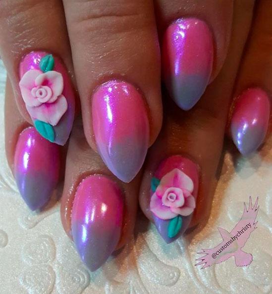 23-Looks-Pretty-Pink-Nail-Inspiration