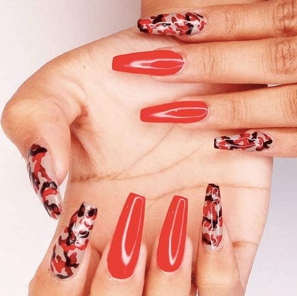 31 Camouflage Nail Designs Page 27 Foliver Blog