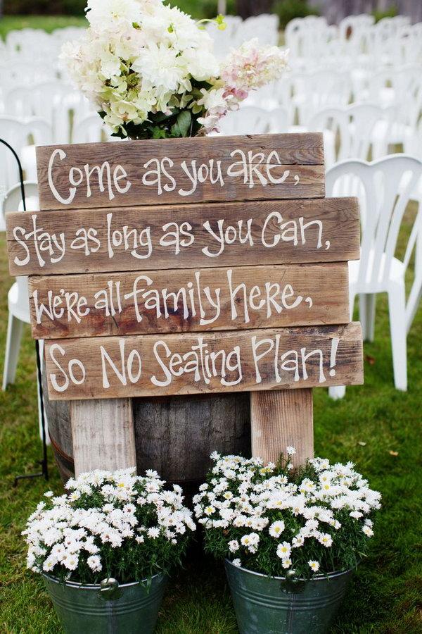 31 Beautiful Rustic Wedding Ideas