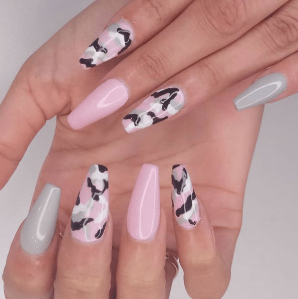 31 camouflage nail designs page 31 foliver blog 31 camouflage nail designs prinsesfo Image collections
