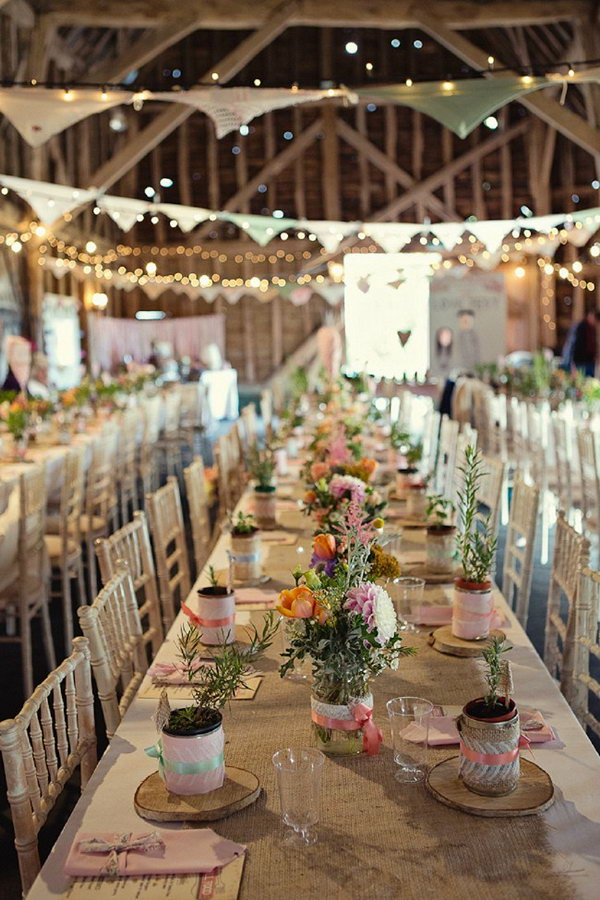 35 Beautiful Rustic Wedding Ideas