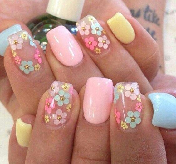 36 Spring Nail Art Designs
