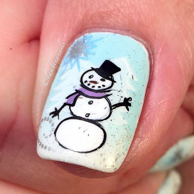 4 Snowy Nail Designs