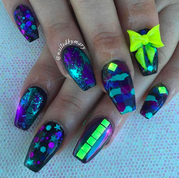 31 Camouflage Nail Designs Page 8 Foliver Blog