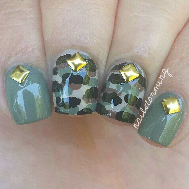 9-Camouflage-Nail-Designs