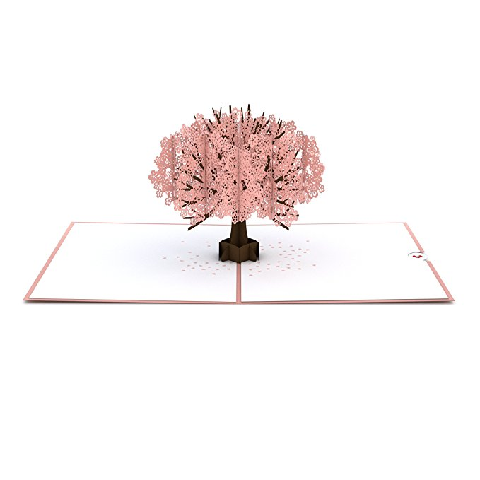 13 Lovepop Cherry Blossom Pop Up Card, 3D Card, Mother's Day Card, Springtime Card, Birthday Card