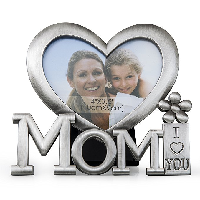 17 Sano Naturals Mom Picture Frame - Gifts For Mom From Daughter And Son - I Love You Mom Frame