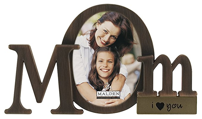 18 Malden International Designs Bronze Script Mom Picture Frame