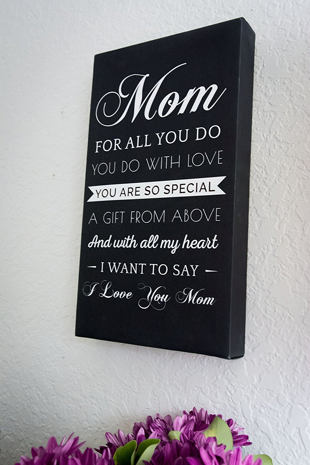 8 Sano Naturals Gifts for Mom From Daughter or Son - Poems for Mothers Day Print Wall Art - Unique Prime Mothers Day Meaningful Quotes Gift Ideas - Best Mom Ever Gifts Under 25