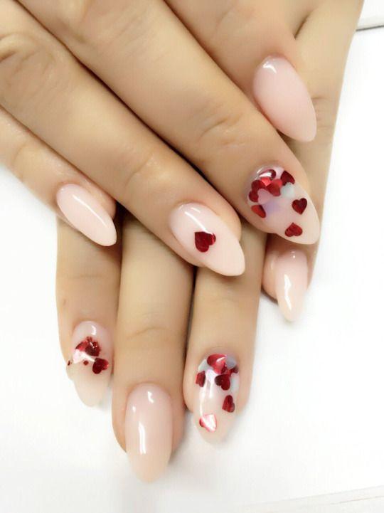 20 valentines nails
