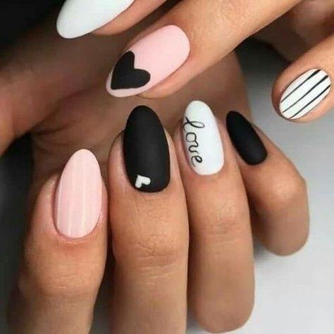 22 valentines nails