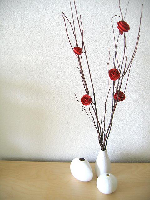 3 Little Paper Flowers