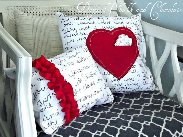 5 Valentines Day Pillows
