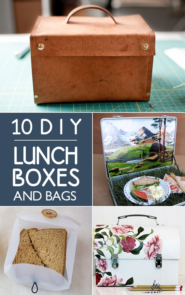 1 DIY Lunch Boxes and Bags