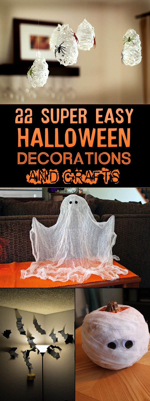1 Super Easy Halloween Decorations and Crafts You Can Make Yourself