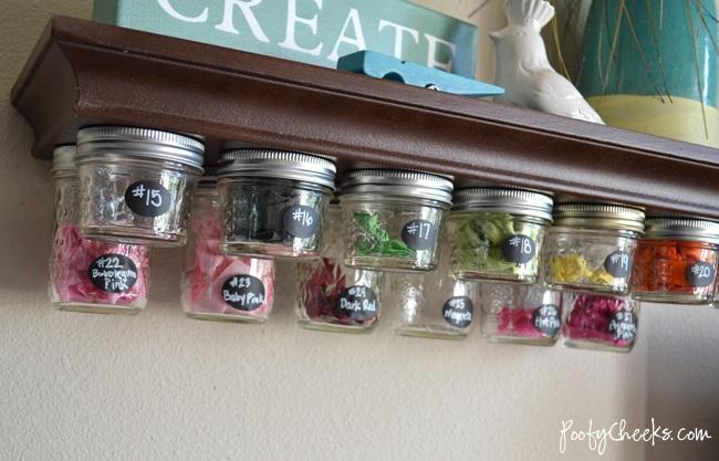 14 Amazing Ideas For Organizing With Mason Jars