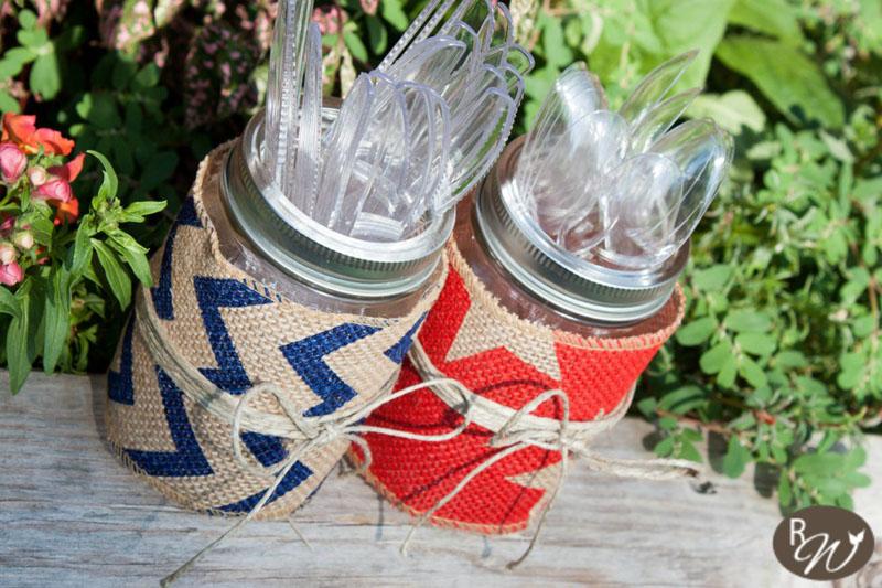 17 Rustic Mason Jar Utensil Holders