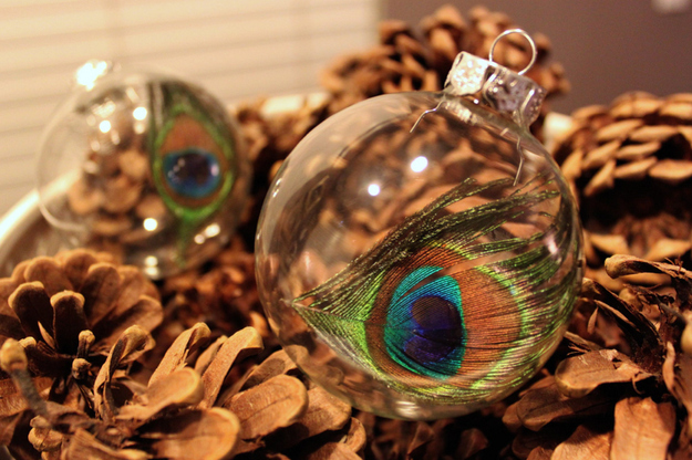 19 Creative Ideas for Decorating and Filling Clear Glass Ornaments
