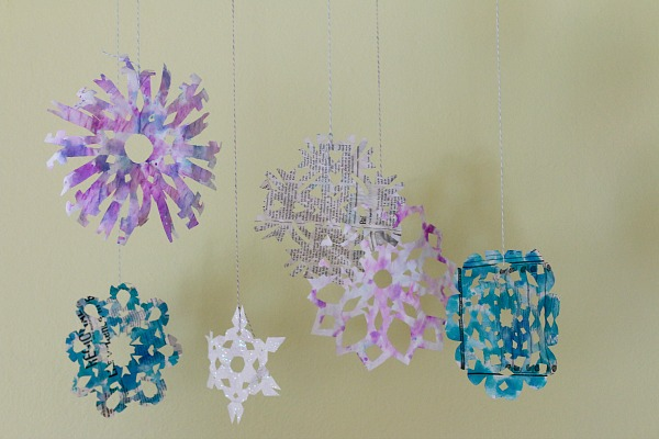 19 Fun and Easy Snowflake Craft Projects