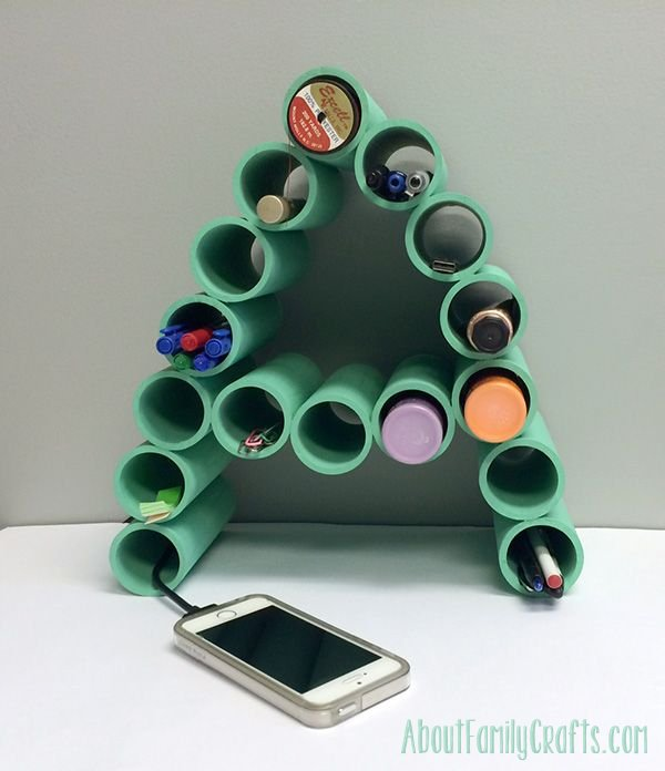 2 Ingenious Ways to Organize Using PVC Pipes