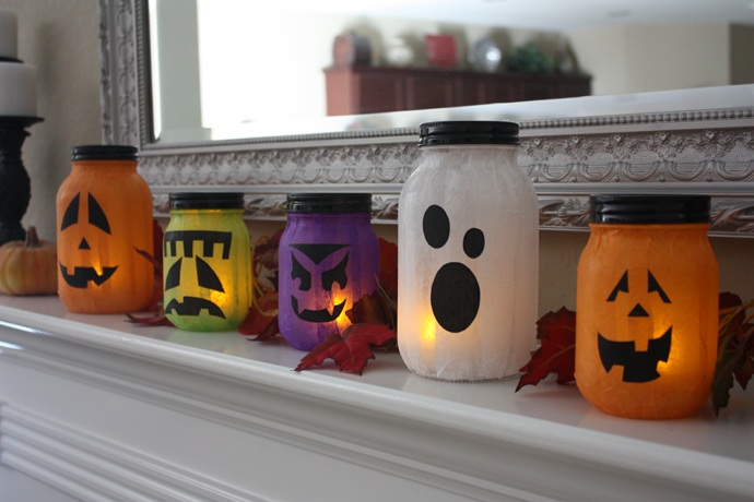 21 Super Easy Halloween Decorations and Crafts You Can Make Yourself