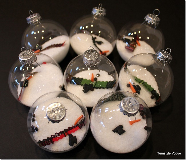 6 Creative Ideas for Decorating and Filling Clear Glass Ornaments