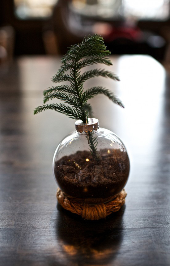 7 Creative Ideas for Decorating and Filling Clear Glass Ornaments