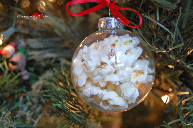 8 Creative Ideas for Decorating and Filling Clear Glass Ornaments