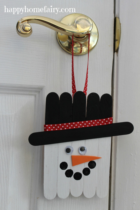9 Creative and Fun Snowman Craft Ideas