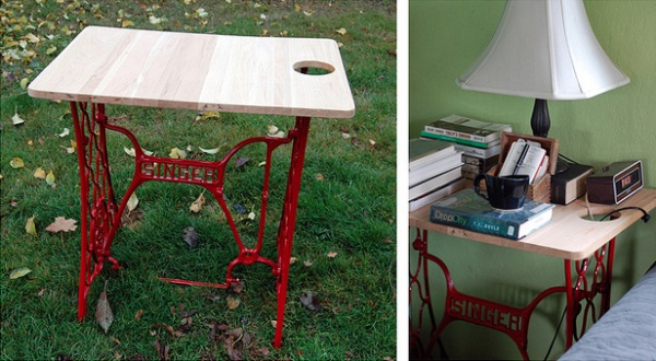 9 TOP 10 Awesome Ideas To Recycle Your Old Sewing Machines
