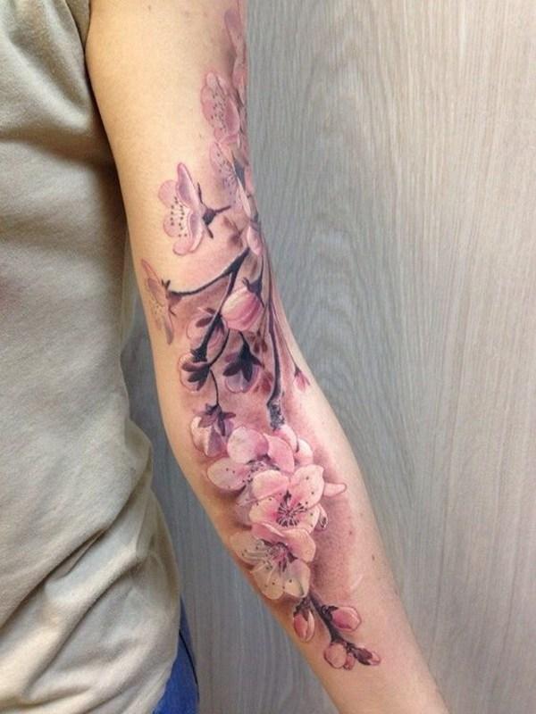 14 Cherry Blossoms Full Sleeve For Women