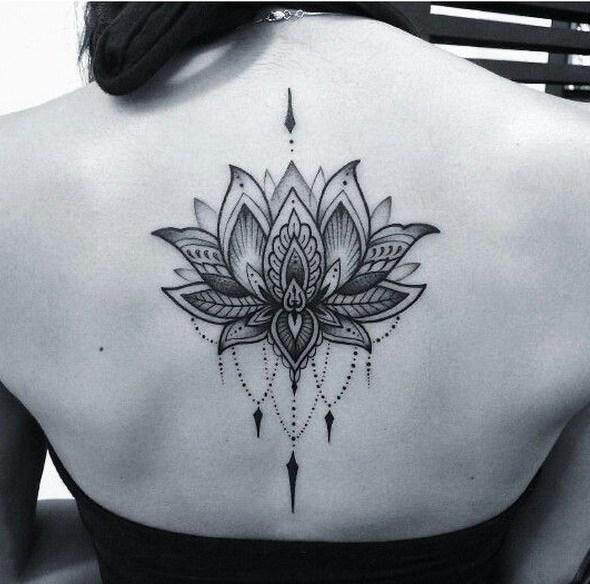 55 Pretty Lotus Tattoo Designs Page 3 Foliver Blog