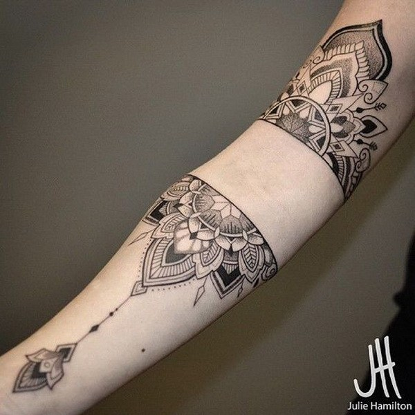 3 Mandala Sleeve Tattoo